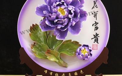 特色洛阳牡丹瓷的韵味体现在哪些方面?