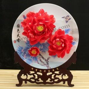 比较实用的礼品-应日红牡丹瓷