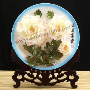 创意礼品娇容三变牡丹瓷16英寸-宽39cm-高51cm