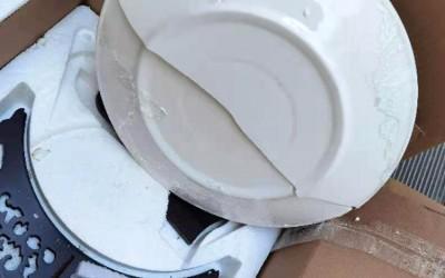 收到朋友送的牡丹瓷礼品破损了怎么办?