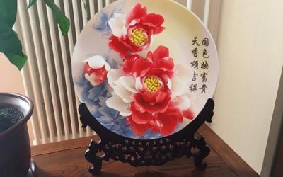 牡丹瓷摆放在家里哪个位置比较好?