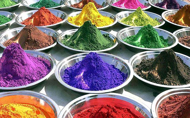 色彩-100多种颜色可选五彩斑斓